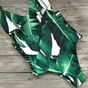 Swim - Leaf Print Bikini